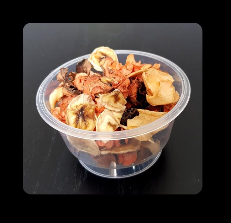 cup friandises séchées pour lapin 3 euros 30 grammes