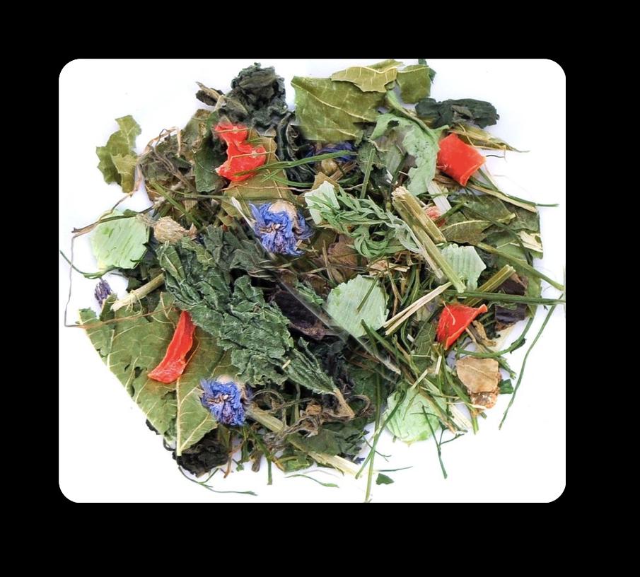 Melange d`herbes aromatiques pour lapin